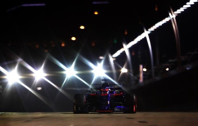 Sábado en Singapur - Toro Rosso: Una jornada difícil para los de Faenza