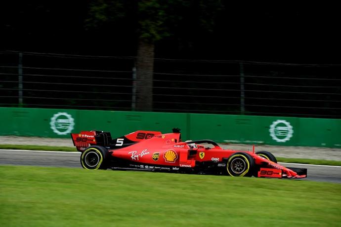 Vettel se encuentra cerca de perderse una carrera