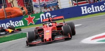 Viernes en Italia – Ferrari desconfía de su ritmo, aún cuando lideraron los primeros entrenamientos libres