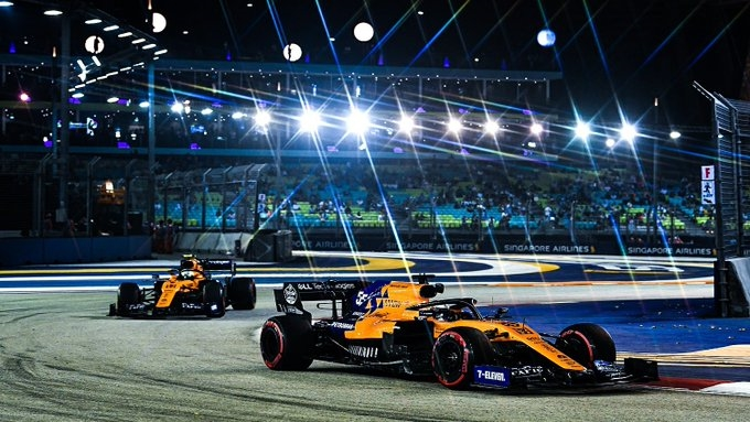 Viernes en Singapur- McLaren: Una jornada con buenos augurios