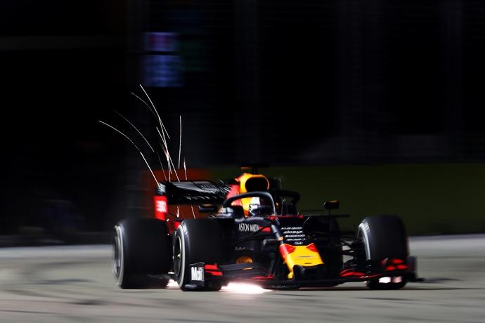 Viernes en Singapur - Red Bull: Balance positivo para el equipo, pero van por más