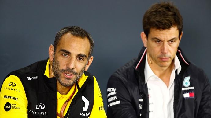 Wolff admite que su relación con Renault no se rompió después de que Ocon se quedase sin asiento en 2019