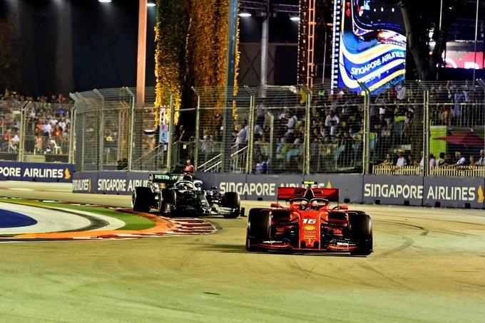 Wolff no cree que las nuevas actualizaciones de Ferrari les haya dado la victoria en Singapur