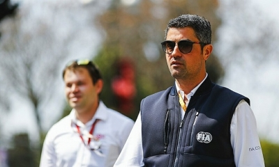 "Michael Masi sobre la salida de Vettel en Suzuka: ""Estuvo dentro de la tolerancia"""