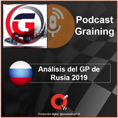 Podcast Graining No. 27 con el análisis del GP de Rusia 2019