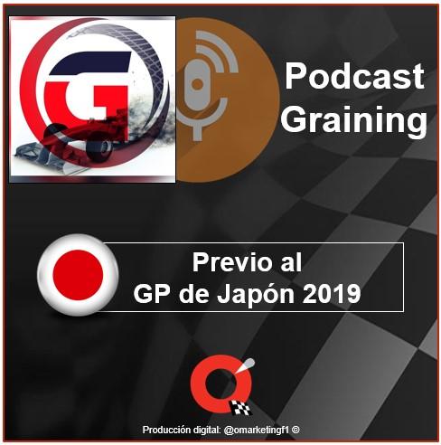 Podcast Graining No. 28 Previo al GP de Japón 2019