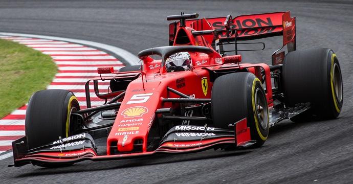 Viernes en Japón - Ferrari:. Faltos de ritmo