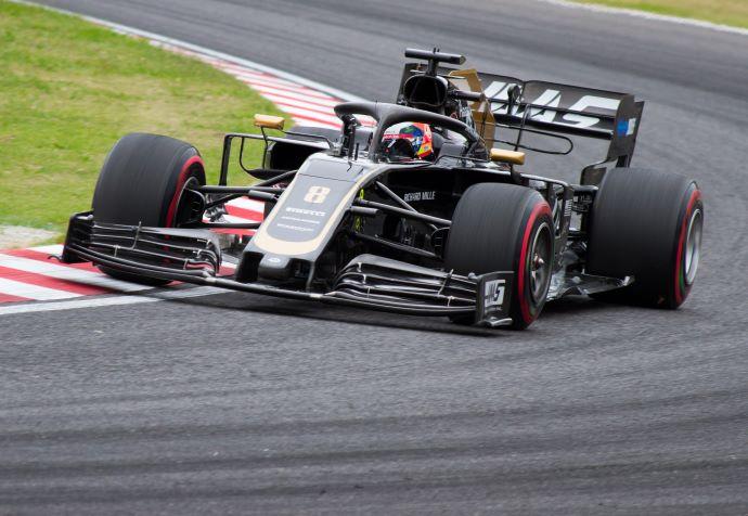 Viernes en Japón – Haas con Grosjean a media tabla en el inicio de un fin de semana diferente