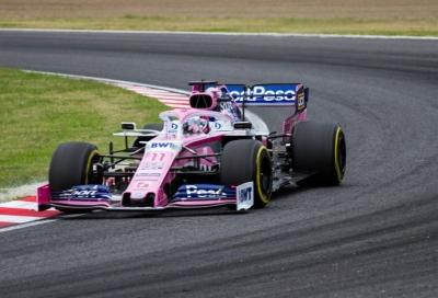 Viernes en Japón - Racing Point sólido en libres 1 y 2 pero con media orden de sushi para llevar desde Suzuka