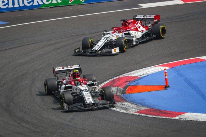 Domingo en México - Alfa Romeo: la primera vuelta y una pésima parada dictan sentencia