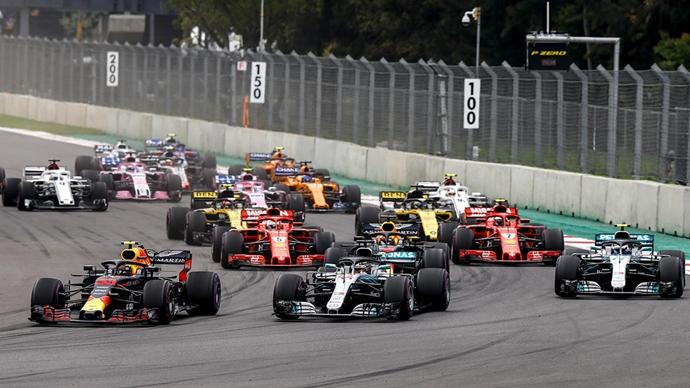 La Guelaguetza, ceremonia inaugural del Gran Premio de México