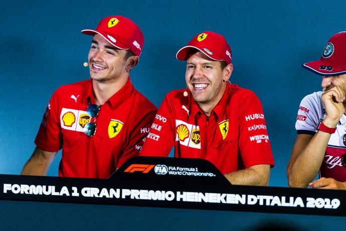 Leclerc asegura que su relación con Vettel no ha cambiado después de Rusia