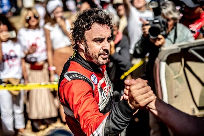 OFICIAL: Fernando Alonso participará en el Rally Dakar 2020 en Arabia Saudita