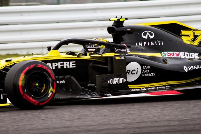 Viernes en Japón – Renault: Sin ritmo suficiente, pero positivos para la clasificación y la carrera