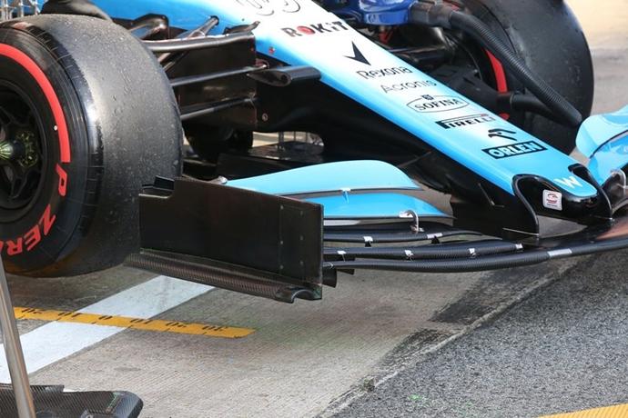 Williams probará en Japón un alerón delantero experimental de cara a 2020