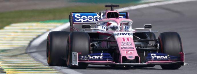 Domingo en Brasil - Racing Point y Checo vuelven a puntuar y Stroll abandona en Interlagos