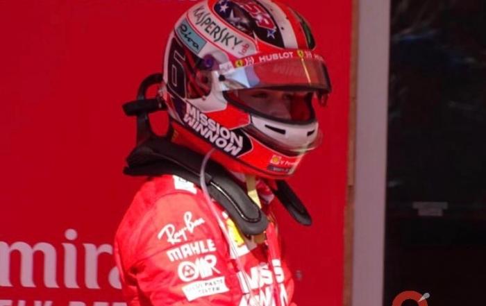 Leclerc penalizará en el Gran Premio de Brasil