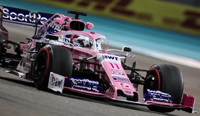 Viernes en Abu Dabi - Racing Point inicia el duelo del desierto de manera prometedora, con Checo en el Top 10