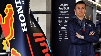 Alex Albon continuará en Red Bull en 2020