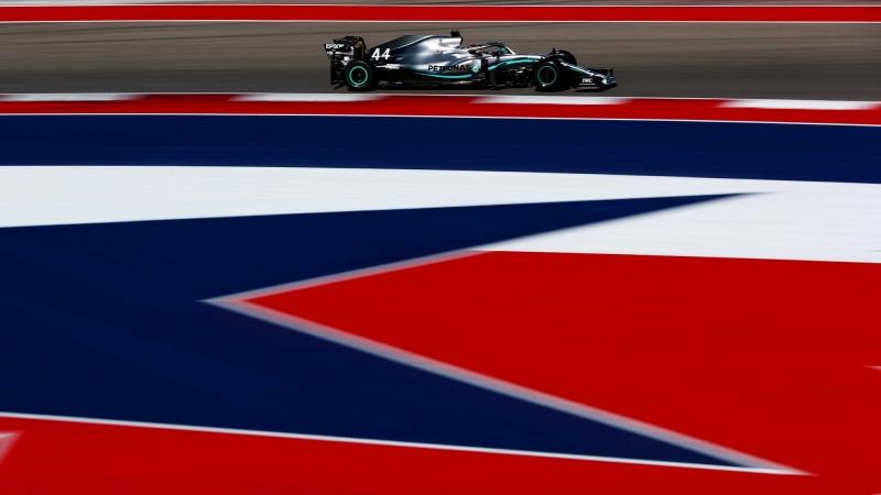 Libres 1 y 2 en Austin: Verstappen y Hamilton alternan dominio
