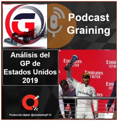 Podcast Graining No. 32 con el análisis del GP de Estados Unidos 2019