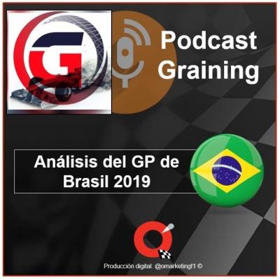 Podcast Graining No. 34 con el análisis del GP de Brasil 2019