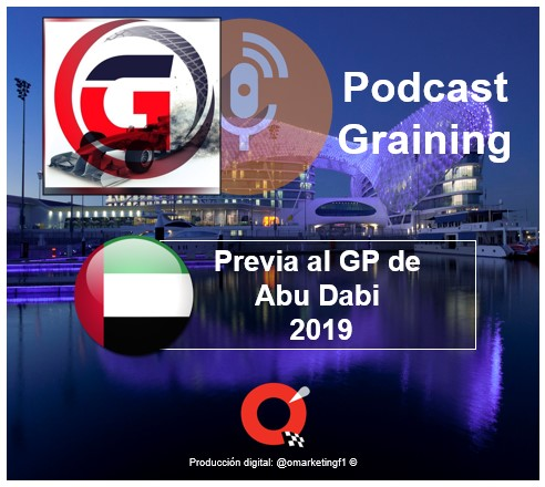 Podcast Graining No. 35 con la Previa al GP de Abu Dabi 2019