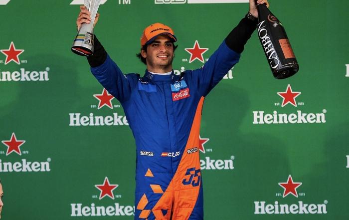 Domingo en Brasil – McLaren: Objetivo cumplido con Sainz en el podio