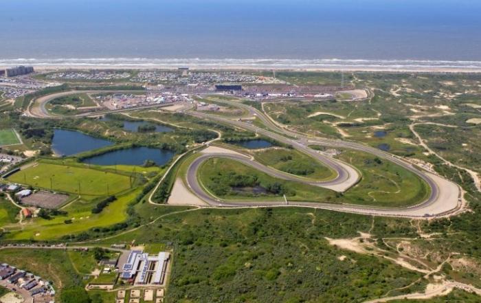 El circuito de Zandvoort presenta sus modificaciones para el GP de 2020