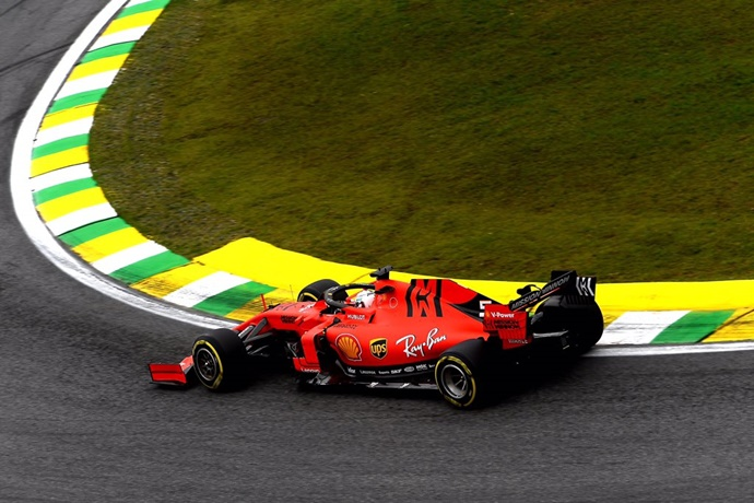 Ferrari igualó por primera vez a Red Bull en el paso por curvas