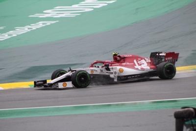 Viernes en Brasil – Alfa Romeo: día positivo para Raikkonen y Giovinazzi a pesar del clima cambiante