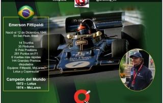 El emblemático apellido Fittipaldi festeja el día de hoy