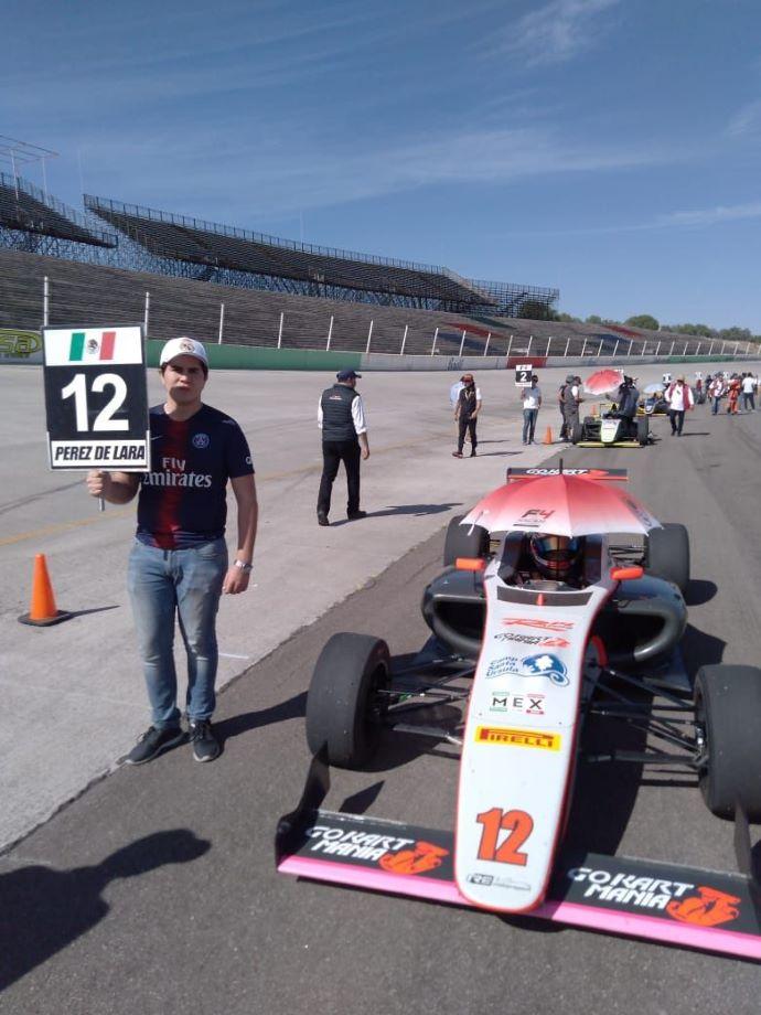 Andrés Pérez de Lara y Noel León se reparten victorias del GP de Aguascalientes de la FIA F4 NACAM