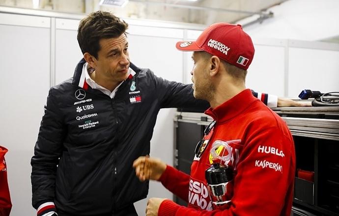 Acuerdo sorpresa de Mercedes con Vettel para ser el compañero de Hamilton en 2020