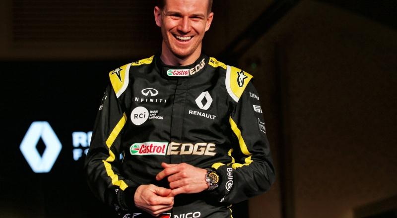 Au revoir de Renault a Nico Hulkenberg