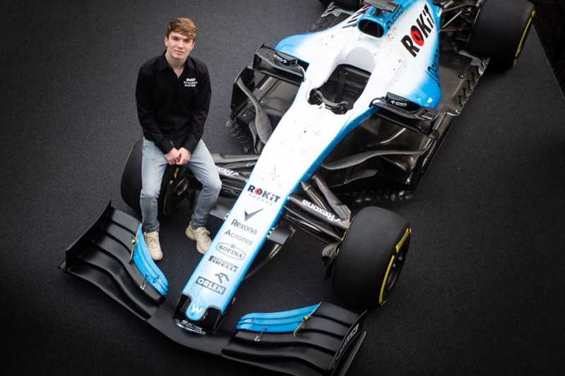 Dan Ticktum ficha por el equipo Williams