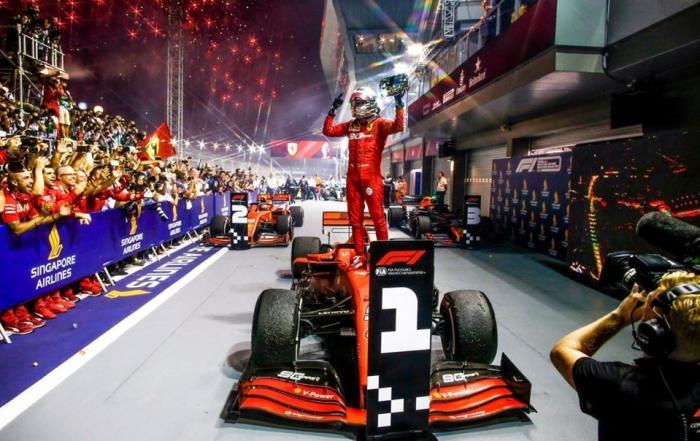 Ferrari reconoce que dejó que Vettel ganara en Singapur
