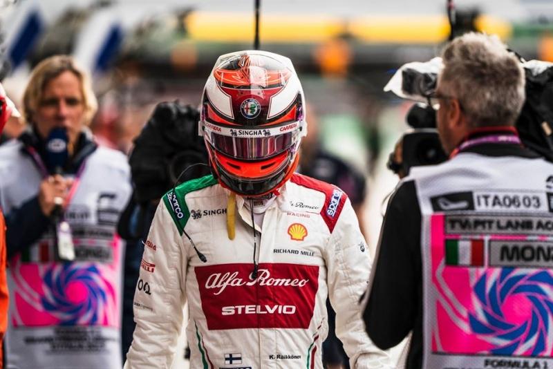 Raikkonen afirma haberse divertido en Alfa Romeo esta temporada