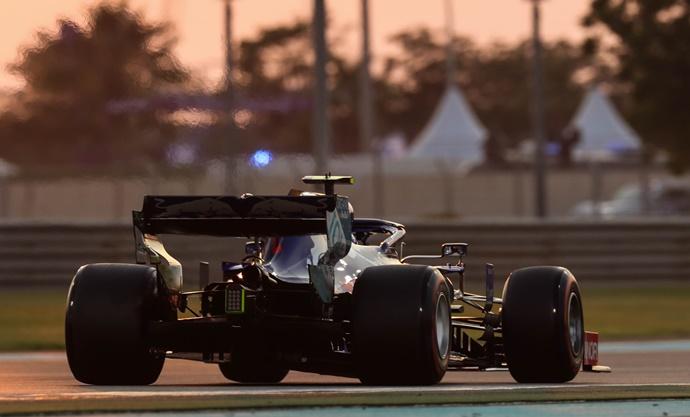 Sábado en Abu Dabi - Toro Rosso: El rendimiento decayó en momentos cruciales