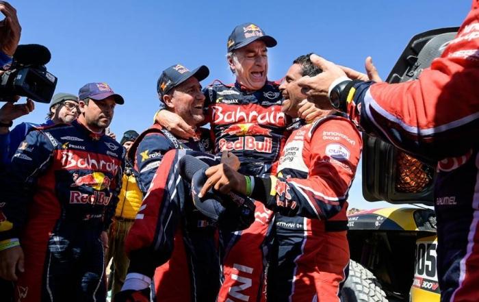 Dakar 2020 Etapa 12: Sainz y Cruz se coronan por tercera vez
