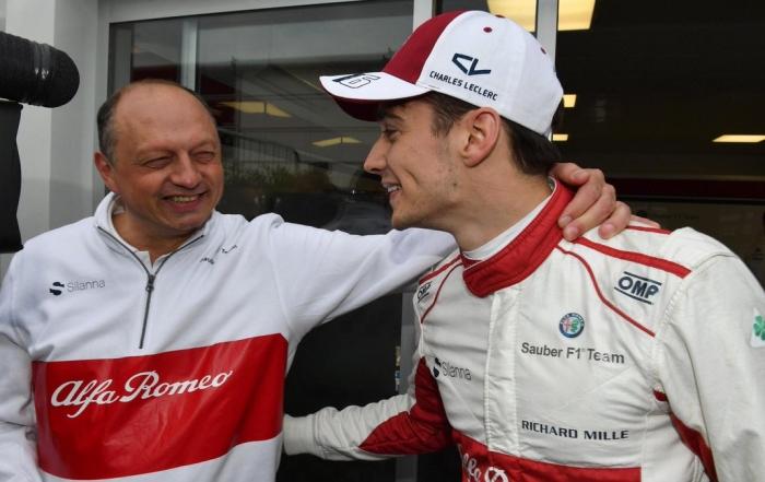 Frederic Vasseur confirma las cualidades de Leclerc
