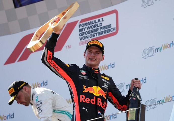 Honda alaba a Verstappen e incluso lo compara con Senna de joven