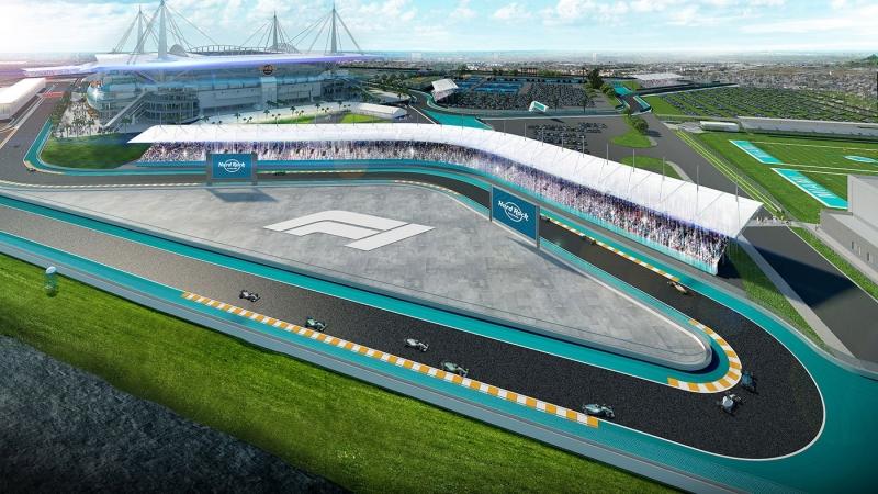 Los organizadores del GP de Miami presentan una configuración diferente de su circuito