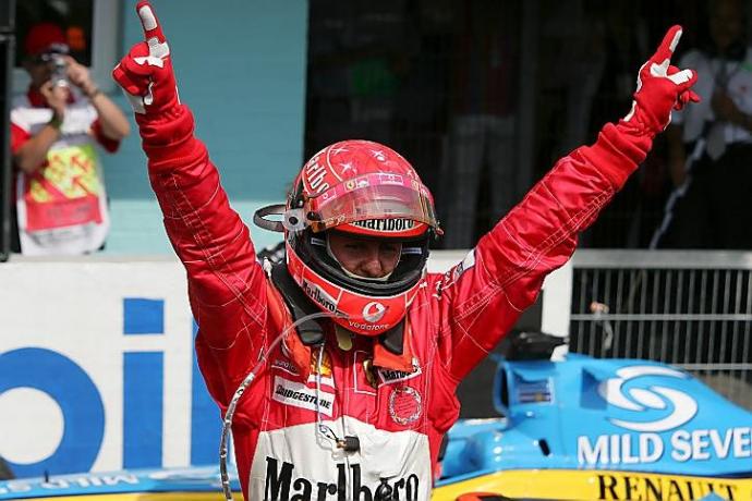 Michael Schumacher podría estar muy cambiado respecto a la imagen que tenemos de él