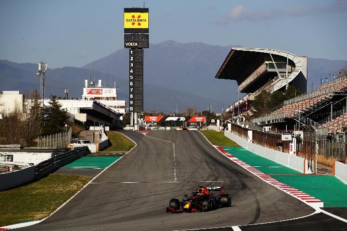 Test F1 2020: Dia 5 – Red Bull con problemas debido al fuerte viento
