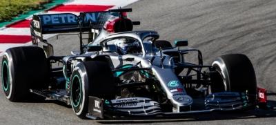 Acaba la primera semana de test con Mercedes en lo más alto