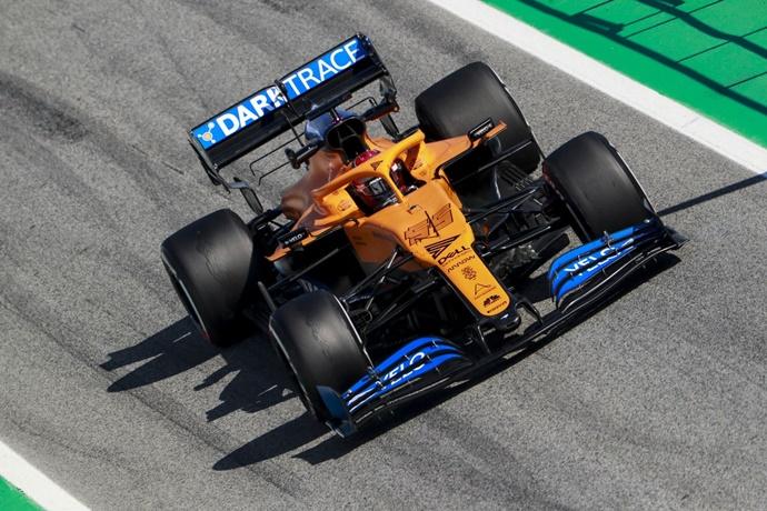 Test F1 2020: Día 3 - McLaren, una semana positiva