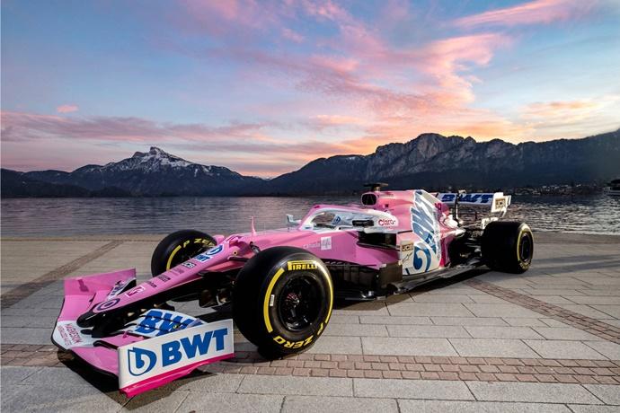 Racing Point presenta su nuevo RP20