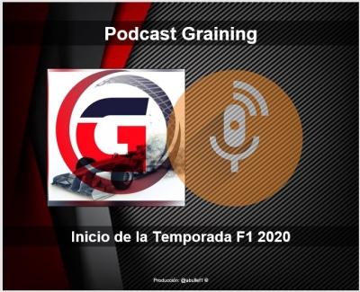 Podcast Graining con el inicio de la Temporada F1 2020