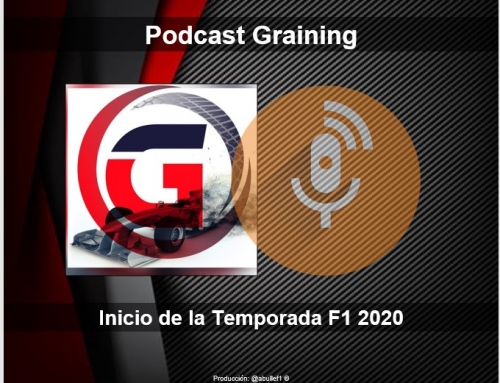 Podcast Graining con el inicio de la Temporada F1 2020